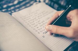 flatmate checklist