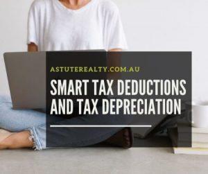 Tax Deductions and tax depreciations small