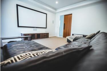 Clean cinema room